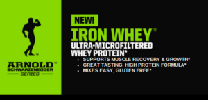 Arnold Schwarzenegger Series Iron Whey 5lb in Pakistan